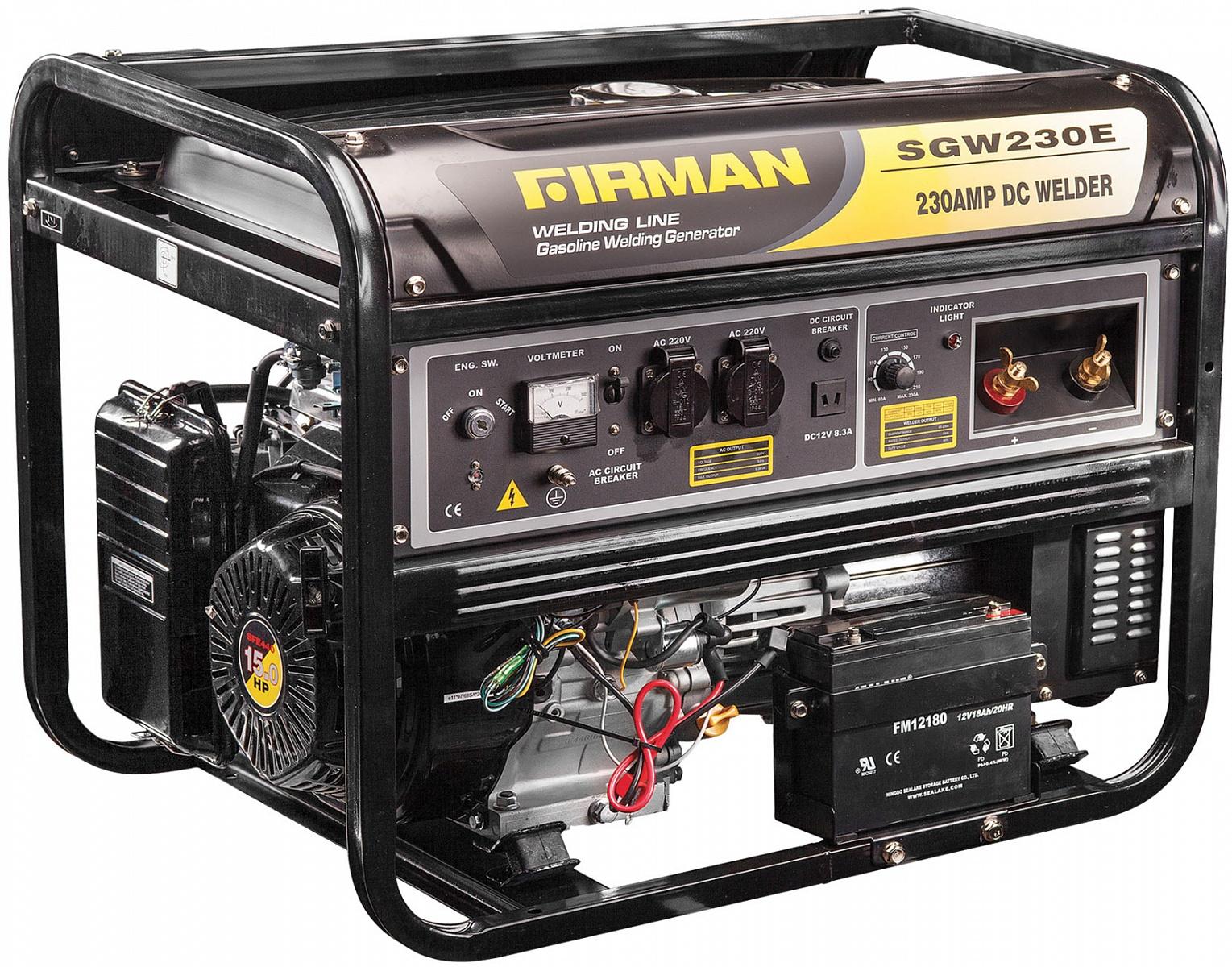 Генератор бензиновый SGW230E с функцией сварки