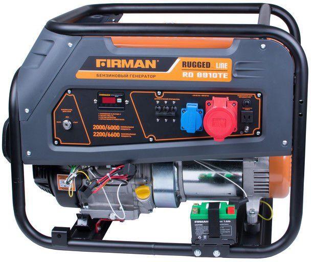 Генератор бензиновый RD8910TE